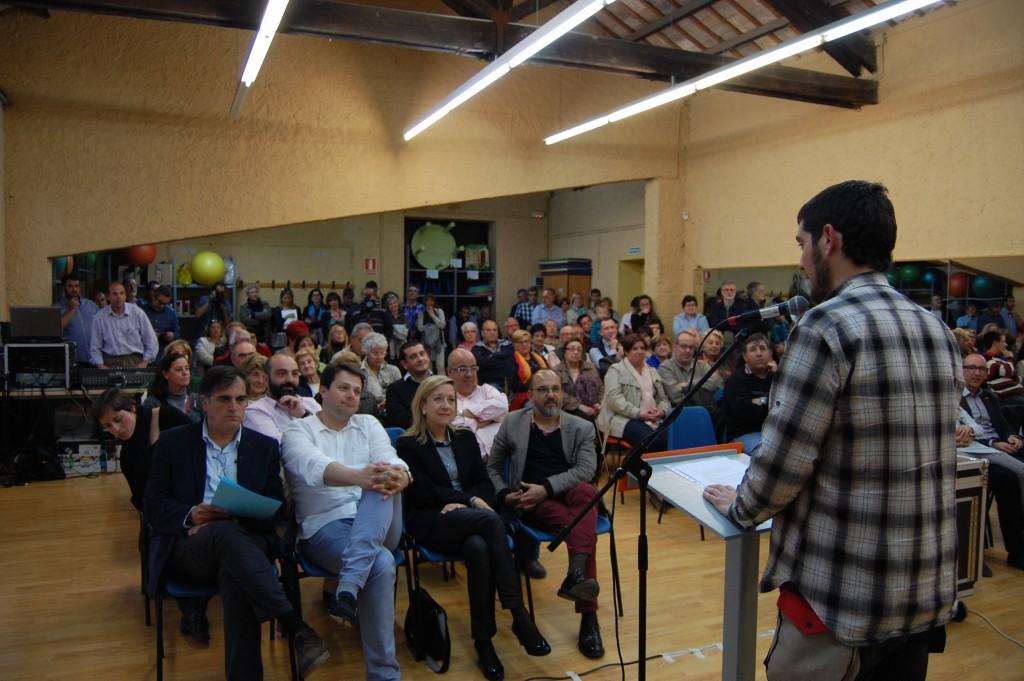 Presentació de la candidatura de Lluís Giralt