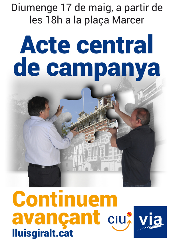 Acte central de campanya