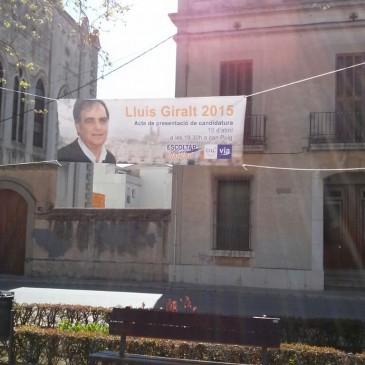 Divendres presentem la candidatura de Lluís Giralt. T'hi esperem!