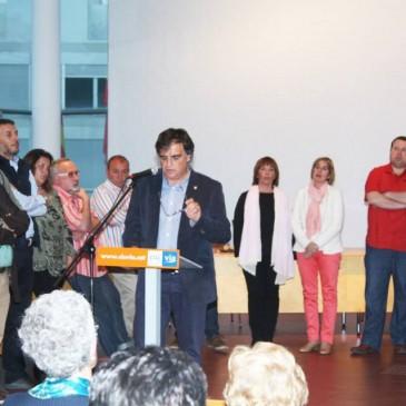 Lluís Giralt presenta una llista electoral representativa de la diversitat del municipi
