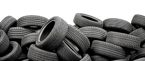 Abocaments il·legals de pneumàtics prop del Montgròs