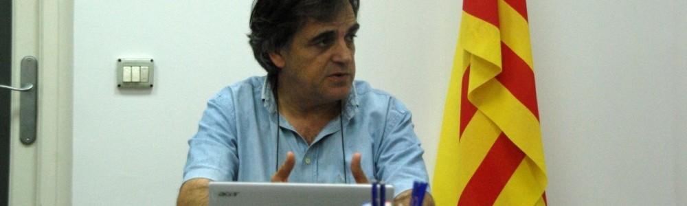 Lluís Giralt. Foto: Claris Caldés