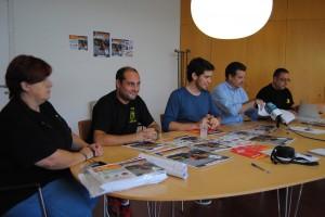 Reunió Jornades. Foto: Premsa Ajuntament